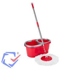 Wischmop Teesa EASY CLEAN 2 Wisch Mop System Rotation Mikrofaser