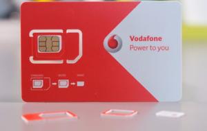 Registriert im netz: Vodafone 4G + €5 NL SIM Karte - Anonym: bereits Aktiviert