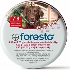Foresto Bayer Collar 70cm for Large Dogs over 18lbs (8Kg)