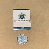 Vintage Matchbook - Around The World Hilton Hotels  Unstruck Unused Match