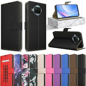 For Xiaomi Redmi Note 9T 5G Case, Magnetic Slim Leather Wallet Stand Phone Cover