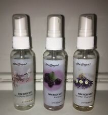 Lot Of 3 Time and Again Body Mist Cherry,Blackberry,Lavende r Chamomile - 2.1 Oz.