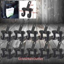 10 x Universal Fit Car Headrest Back Front Seat Handbag Bags Hanger Hook Holder