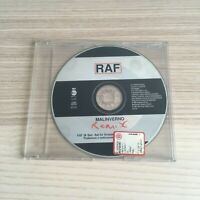 Raf - Malinverno remix - CD Single PROMO - 1997 CGD - RARO!