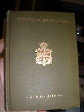 Vintage The Tudor - Shakespeare - King John - 1912 - First Edition