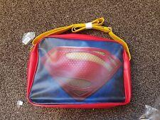 NEW SUPERMAN DC COMICS OFFICIAL RETRO  SHOULDER SPORTS MESSENGER  SCHOOL GYM BAG