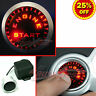 JDM PUSH START BUTTON KIT, 12V Ignition ENGINE Starter with Luminous RED LEDs