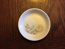 Easterling Porcelain Finger Bowl Made in Germany With Gray Roses Floral Design