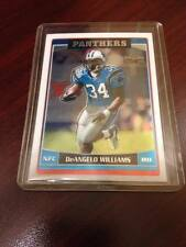 DEANGELO WILLIAMS 2006 TOPPS CHROME #228 CAROLINA PANTHERS ROOKIE RC!!! WOW!!!!!