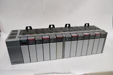 Allen Bradley SLC 500 I/O SYSTEM 1746-A13 13 slot rack with P1 Power Supply