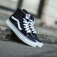 Chaussures Vans VN000D5IB8C SK8-HI Black/Black / Blanc Mode Homme Sportstyle