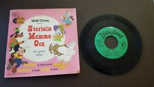 33 GIRI + LIBRO STORIELLE DI MAMMA OCA WALT DISNEY - RICORDI - 1968 7/11/17