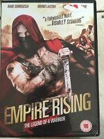 Empire Rising DVD 2005 Legend of a Warrior Action  Movie Epic