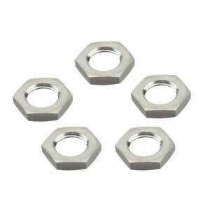 5pcs Stainless Lock Nut Homebrew Hardware Beer Brew Pipe Fittings Accessories