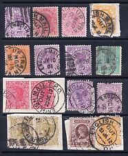Numeral Cancellation Stamps