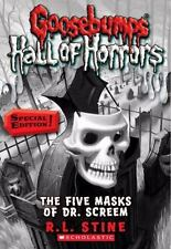 Goosebumps Hall of Horrors #3: The Five Masks of Dr. Screem - Acceptable - Stine