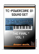 """tc electronic Powercore 01 """"The final"""" Vol.1 - 100 Sound Patches / Sound Presets"""