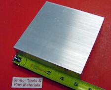 "3"" X 5"" ALUMINUM 6061 FLAT BAR 5"" LONG SOLID T6511 3.000"" Plate Mill Stock"