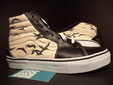 2006 Vans SK8-Hi LX LOOMSTATE BIRDS POLKA DOTS WHITE BLACK PURPLE 5598299-090 9