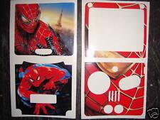 GAMEBOY SPIDERMAN (sp) Vinyl Skin Sticker fast del