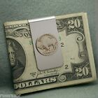 Money Clip Buffalo Nickel Bison Vintage Coin USA 5 Cents