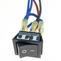 IndusTec Maintained DC Motor - Polarity Reverse Rocker Switch DPDT 12V 24V 2 Pos