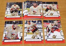 2009-10 Binghamton Senators AHL Team Set - Low Production Team Issued Set