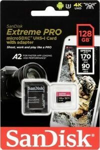 SanDisk Micro SDXC Extreme PRO 512GB 170 MB/s A2 UHS-I U3 V30 + SD adaptér