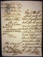 1853 Colonial Spain Signed Captain General CONDE PEZUELA Governor of Puerto Rico