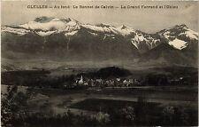 CPA   Clelles - Au fond- Le Bonnet de Calvin - Le Grand Ferrand et ... (434778)