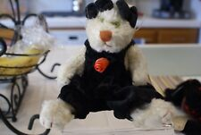 Boyds Bears Plush ROWENA P. PUSSYTOES QVC White Cat Retired New With Tags