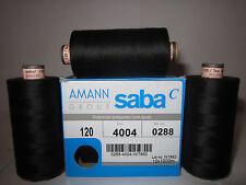 dark-blue 1.000m Nähgarn 250 pcs spools wholesale  AMANN Saba 120 blau