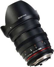 Samyang 24 Mm T1.5 VDSLR Manual Focus Video Lens for Canon DSLR Cameras