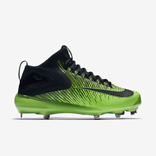 NIKE LUNAR VAPOR TROUT ASG METAL BASEBALL CLEATS SIZE 13 BLACK GREEN 844627-003