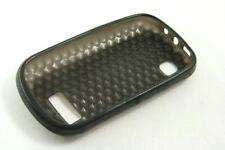 Custodia Cover Gomma Nero Protezione Guscio Posteriore Nokia Asha 200 201