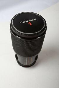 Vivitar Series 1 70-210mm Lens (E4R) f/3.5 Macro Olympus Mount VMC