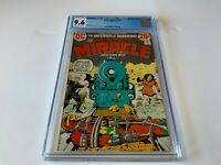 MISTER MIRACLE 13 CGC 9.6 RAILROAD TRAIN BONDAGE DC COMICS 1973