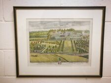 Original Leonard Kynff Copper Engraving by J Kip 1698. Wixley West Yorkshire