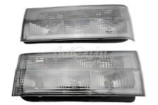 BMW 3 Series E30 Black Rear Taillights Set Right and Left Side Lamp NEW