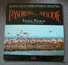 Franck Pourcel et son grand orchestre, panorama de la mélodie,  LP - 33 Tours