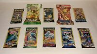 10 New Pokemon Packs Unweighed / 10 Card Packs & 3 Card Packs XY Evolutions AND