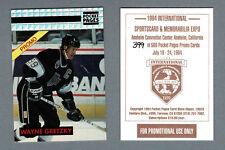 1994 Int'l Show Promo, Pocket Pages Card Show Digest, Wayne Gretzky #'d/500