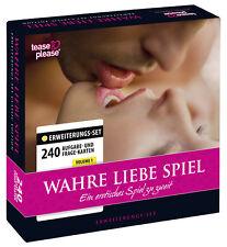tease & please Erweiterungsset Wahre Liebe Erotische Spiele