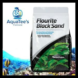 Seachem Flourite BLACK SAND 3.5kg Planted Aquarium Fish Tank Substrate Shrimp