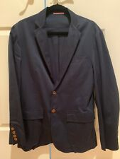 Apolis - Global Citizen Navy Cotton Blazer (Size S)