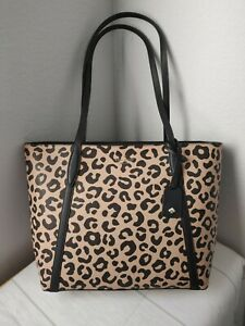 Kate Spade Cara Leopard Large Tote