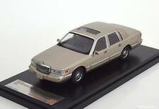 LINCOLN TOWN CAR 1996 PEARL SILVER PREMIUM X PRD102 1/43 ARGENT PERLE USA