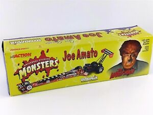 Action Joe Amato Monsters THE WOLFMAN NHRA Top Fuel Dragster 1:24 2000 Diecast