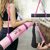 Yoga Mat Strap Belts Adjustable Sport Sling Shoulder Carry Strap Stretch Fitness