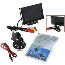 "4.3"" Color TFT LCD Slim Car Rearview Monitor for Car Rear Camera DVD VCR Q8M1"